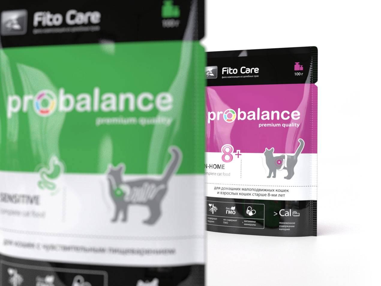 Корм для кошек probalance: отзывы и разбор состава