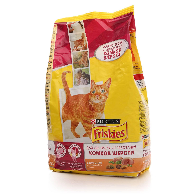 Корм для кошек «friskies» («фрискис»): описание линейки, анализ состава, преимущества и недостатки питания
