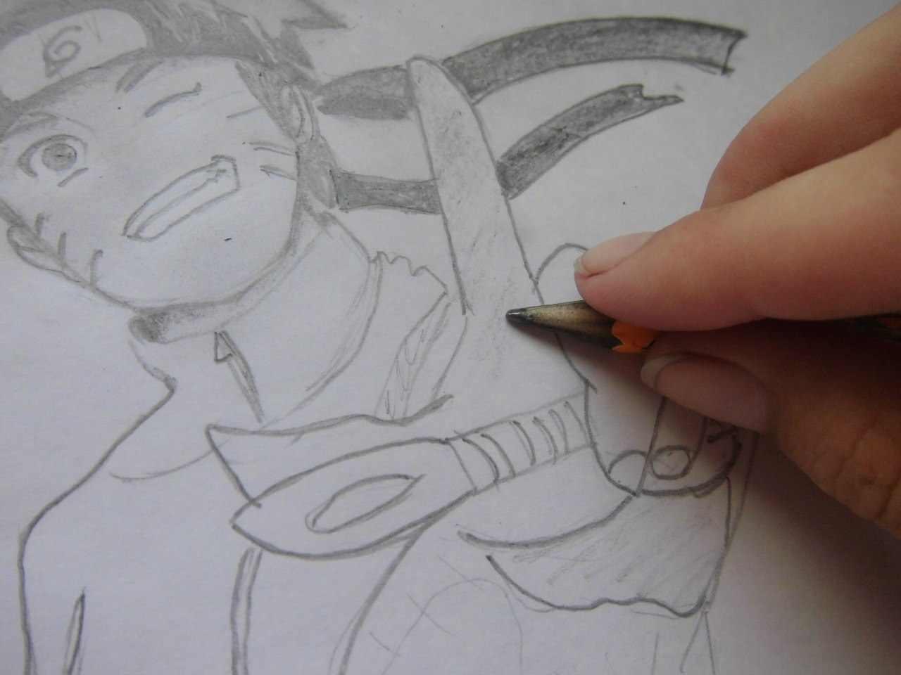 Как нарисовать аниме девушку-кошку  поэтапно 7 уроков