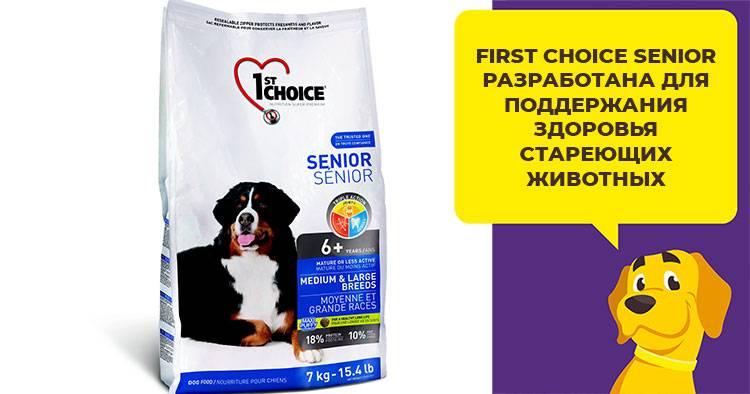 1st choice для собак: корм для мелких пород