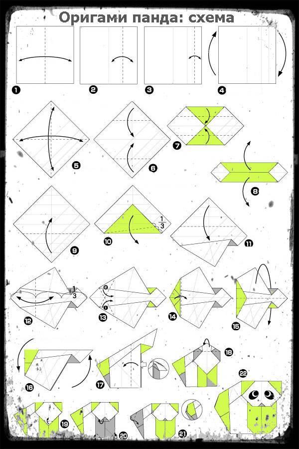 Оригами собака: схема для детей, как сделать модульное оригами, пошаговая инструкция сборки для начинающих