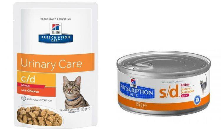 Диета для кошек при мочекаменной болезни