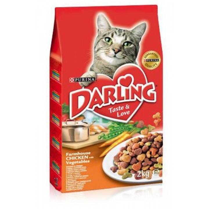 """Корм для кошек """"дарлинг"""": состав, отзывы ветеринаров"""