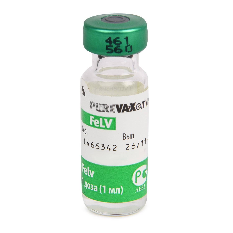 Вакцина пуревакс для кошек – инструкция по применению