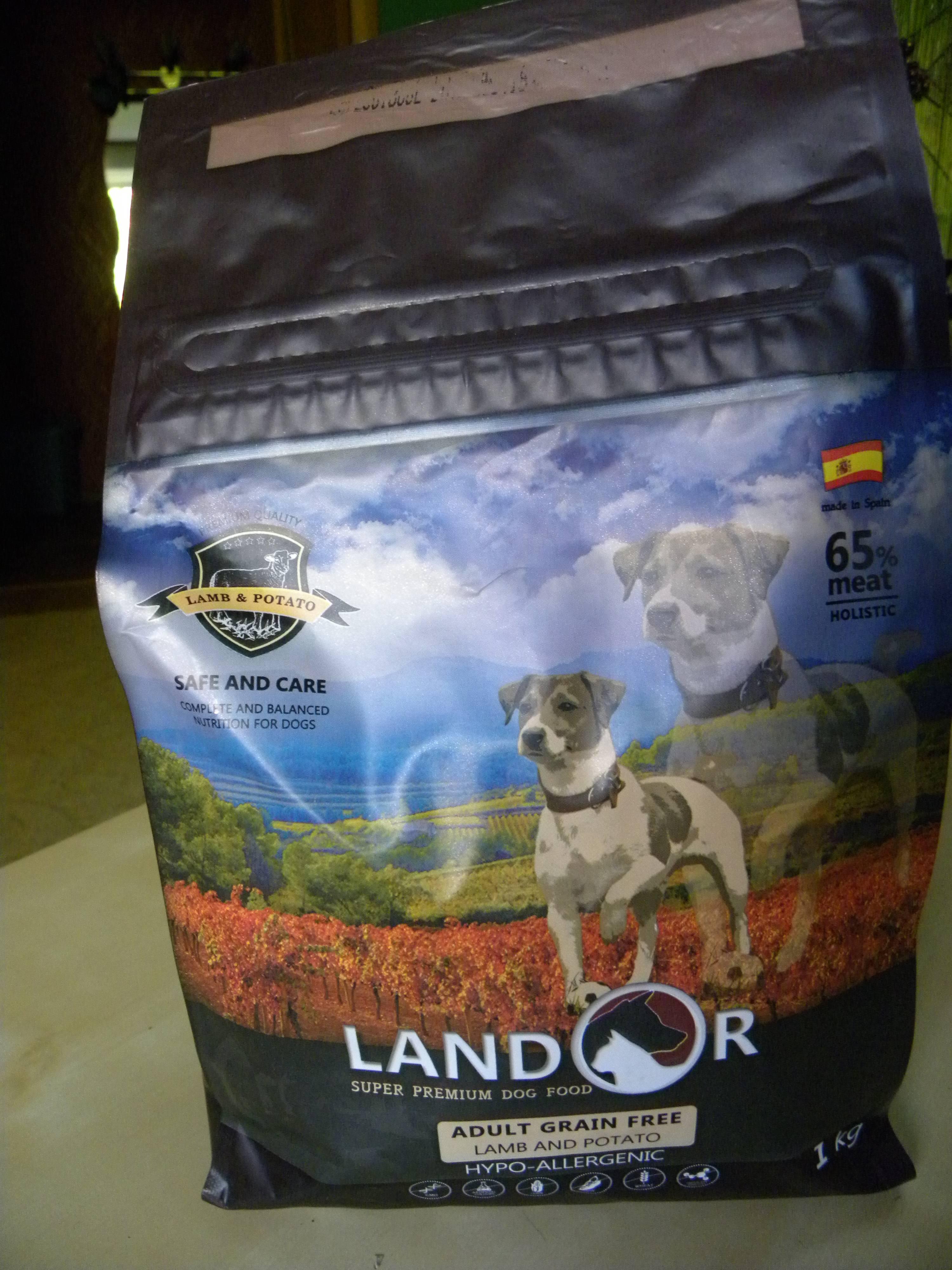 Корм landor для собак: отзывы, где купить, состав