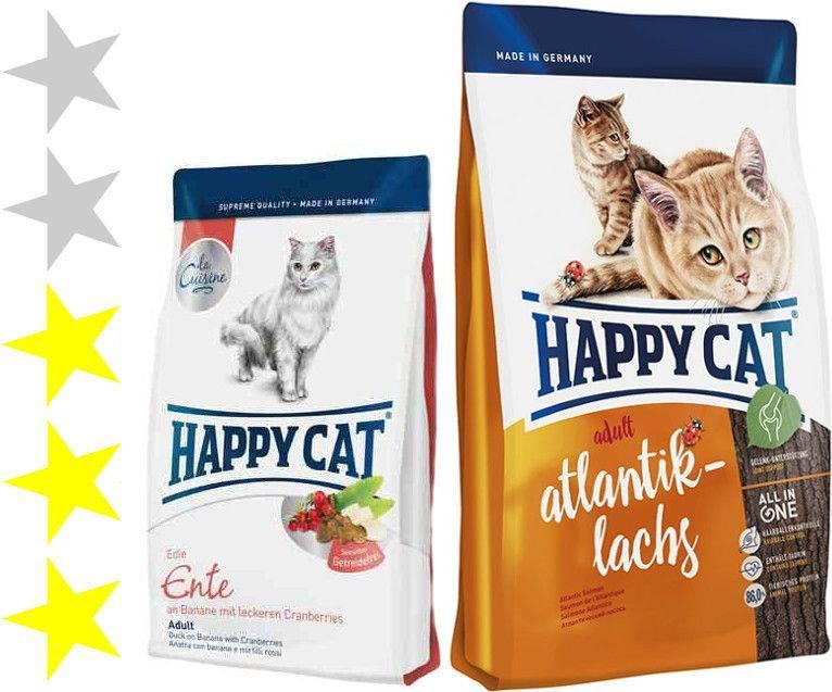 Корм для кошек happy cat: отзывы и разбор состава - петобзор