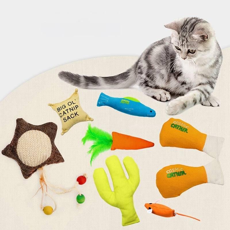 Игрушки для котят своими руками в домашних условиях, как сделать интересную для кошки игрушку - интерактивную, дразнилку, погремушку