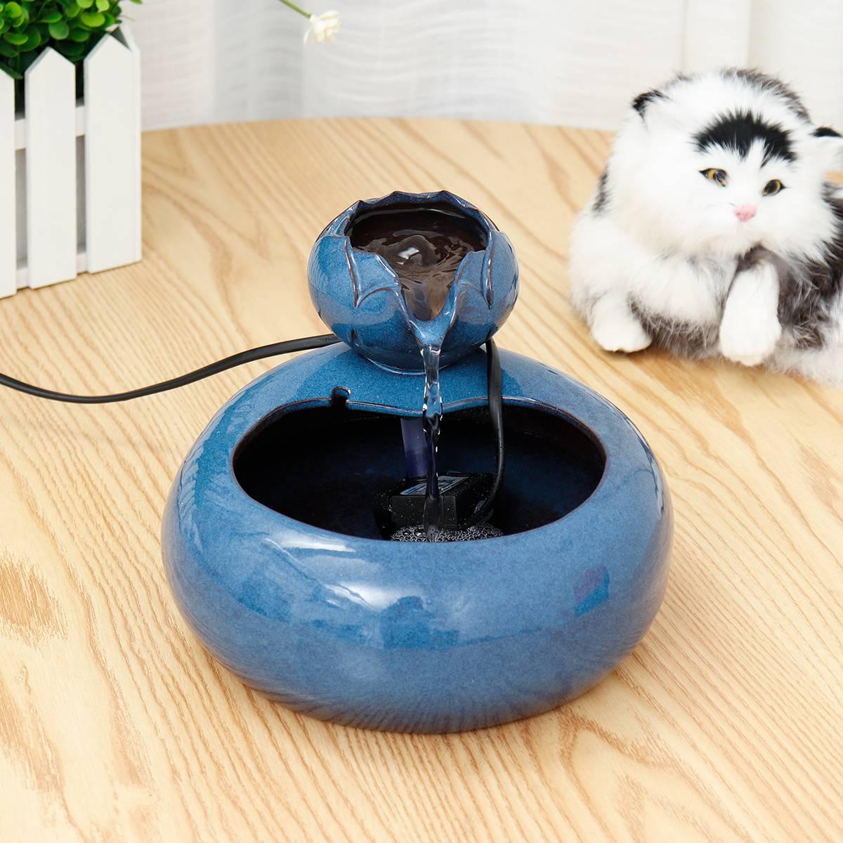Обзор поилок для кошки: создание автоматического фонтанчика собственноручно
