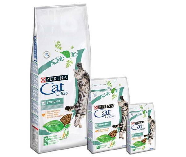 """Сухой корм для кошек """"кэт чау"""" (cat chow) от фирмы purina: состав, отзывы"""