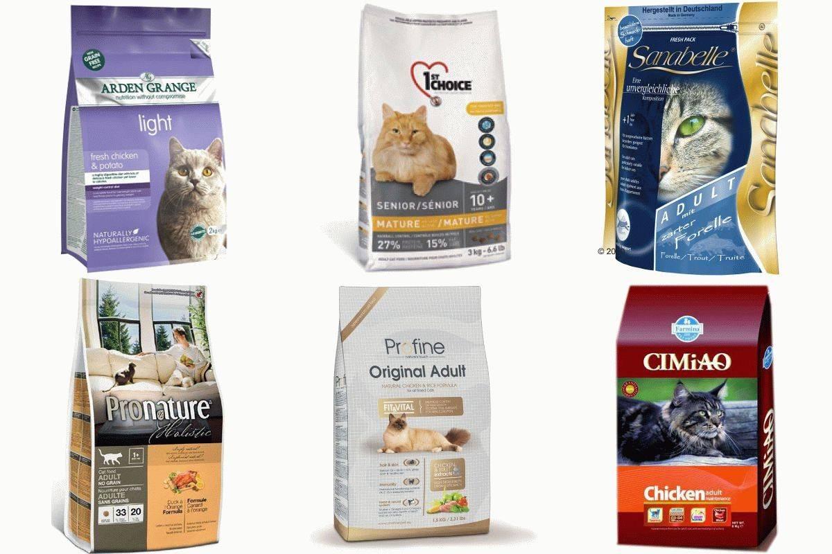 Корм для кошек премиум класса: список, рейтинг