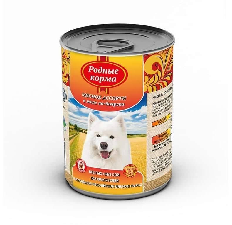 """Корм """"родные корма"""" для собак: отзывы покупателей"""