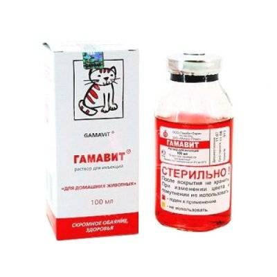 Лекарственный препарат для кошек и собак микро-плюс гамавит флакон флакон, 6 мл