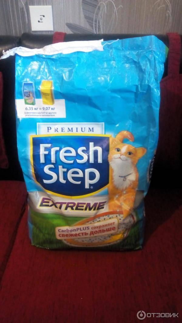 Наполнитель для кошачьего туалета «fresh step»