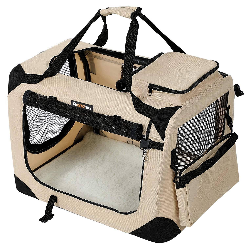Переноски для собак (28 фото): как выбрать пластиковую или мягкую сумку-переноску на колесах для средних и больших пород собак?