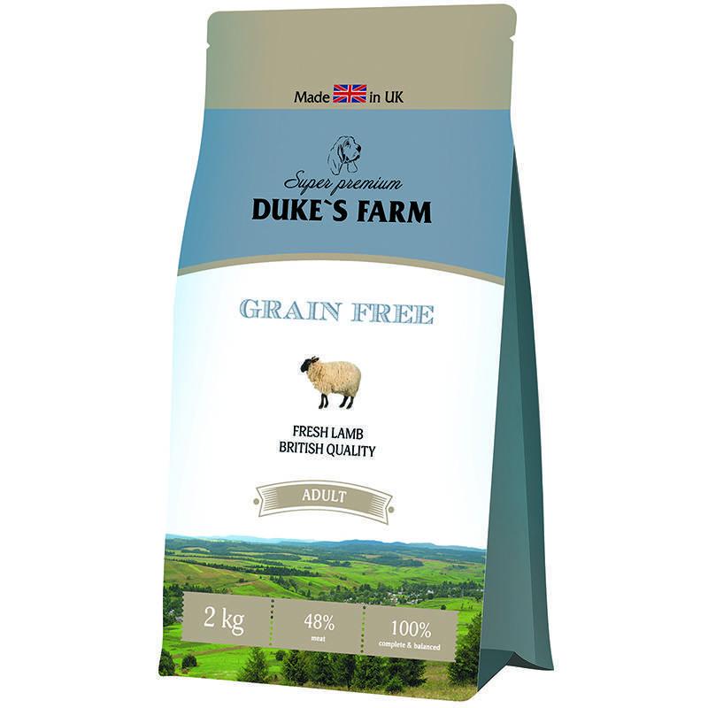 Обзор английского корма для собак dukes farm