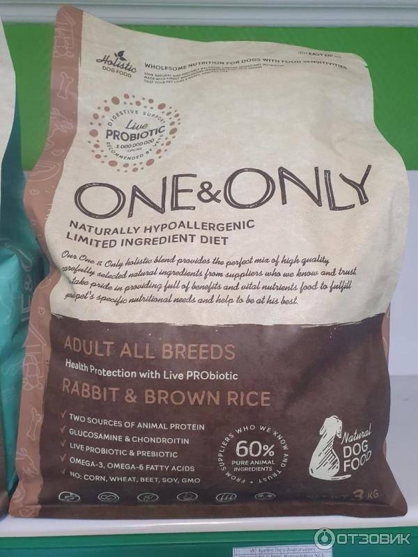 One only - корм для кошек: отзывы, цена, состав, купить