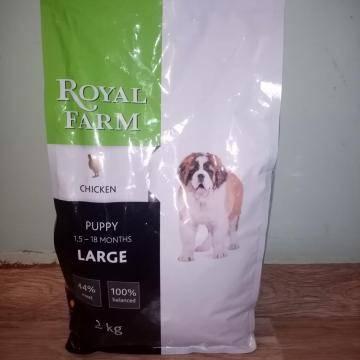 Обзор и отзывы  корма для собак royal farm