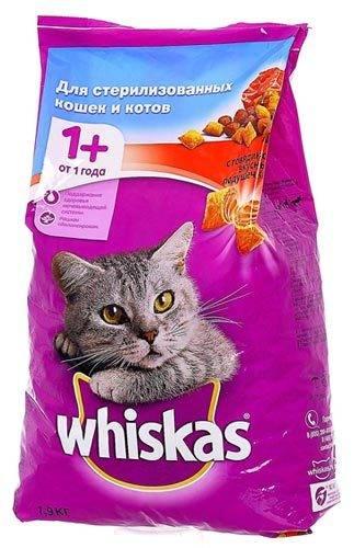Информация для тех, кто кормит кошек вискасом.