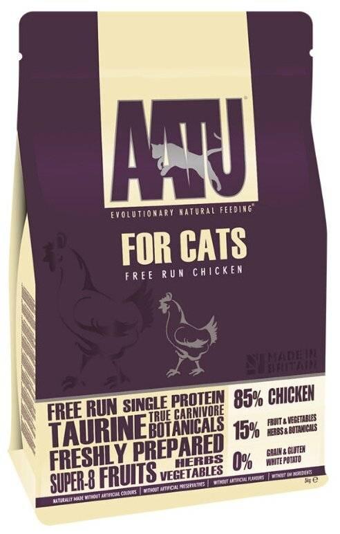 Корм для кошек aatu: отзывы, разбор состава, цена