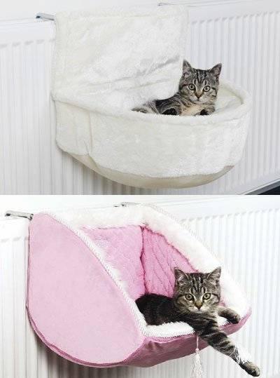 Лежанка для кошек своими руками | из свитера, выкройки, как сшить