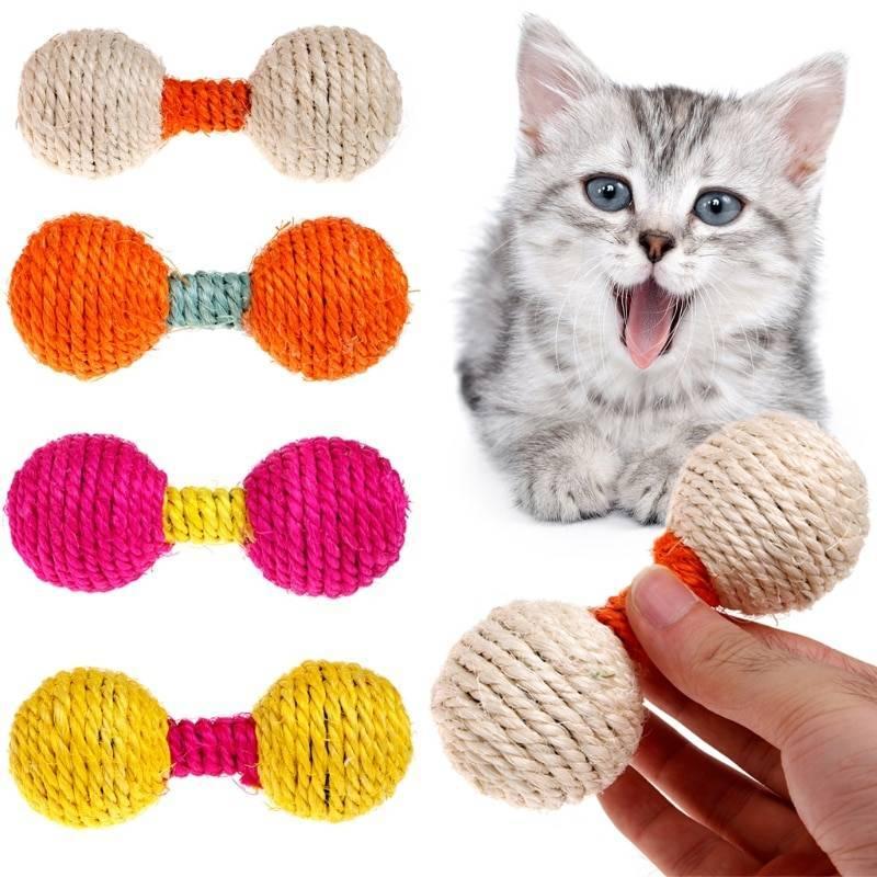 Игрушки для кошек и котят своими руками: как сделать, выкройки мягких мышей из ткани и не только, схемы интерактивных