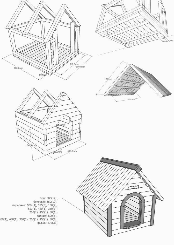 Как построить будку для овчарки своими руками: выбор места, размеров и материала, пошаговая инструкция