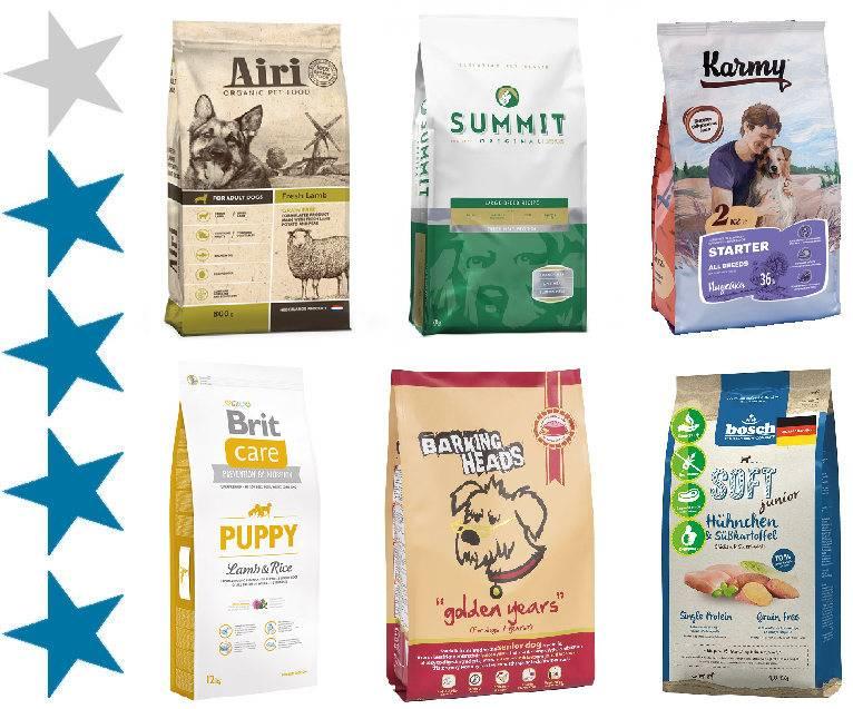 Корм для собак премиум класса: виды, состав, список марок