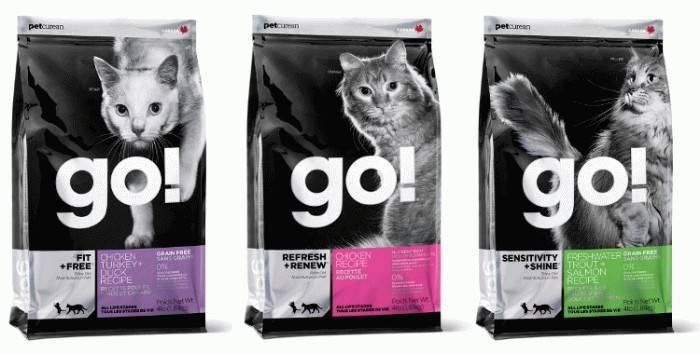 Корм go для кошек: состав сухого natural holistic