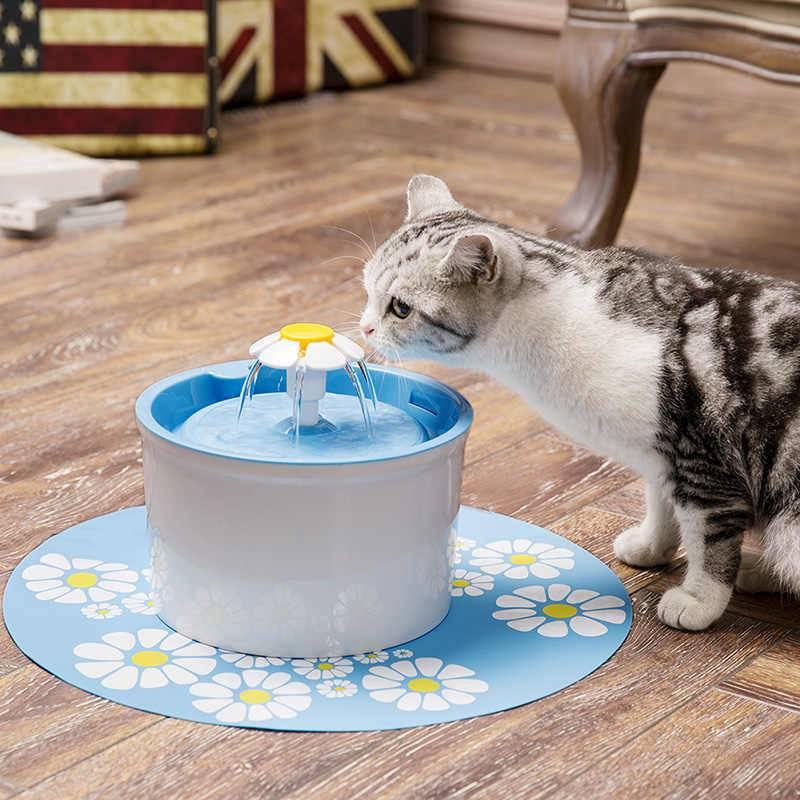 Поилка для кошек: автоматический фонтанчик своими руками
