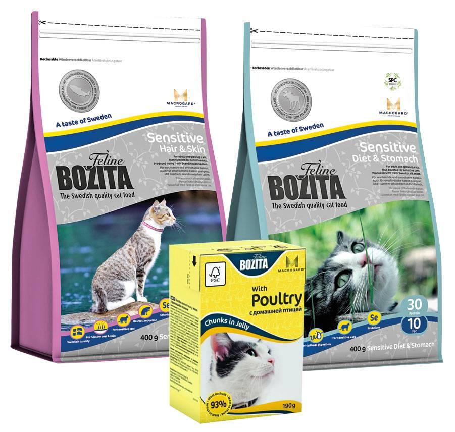 Корм для кошек bozita: 7 популярных вида, отзывы, стоит ли давать