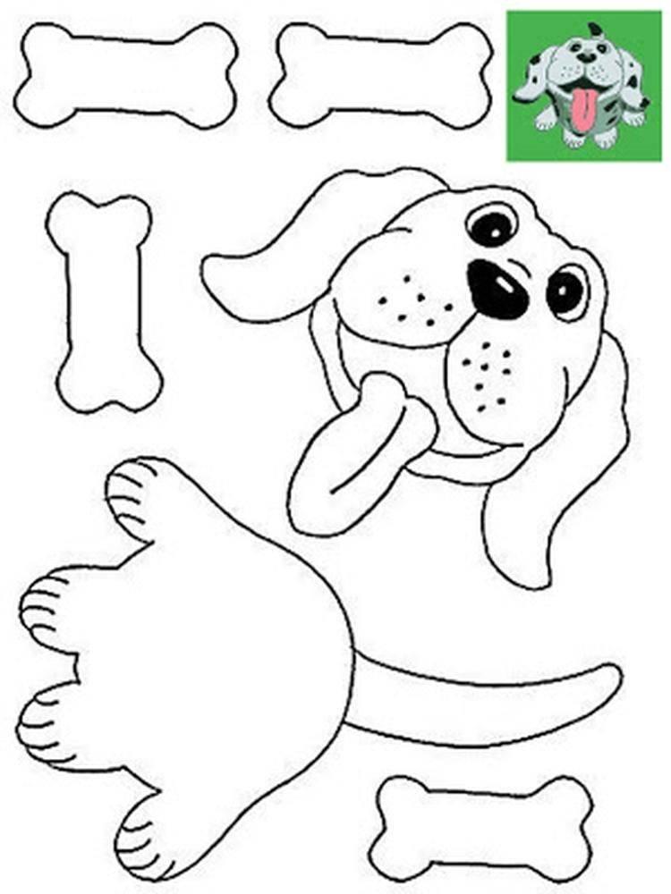 Аппликации из бумаги для детей 4-5 лет своими руками. шаблоны. мастер-классы с фото