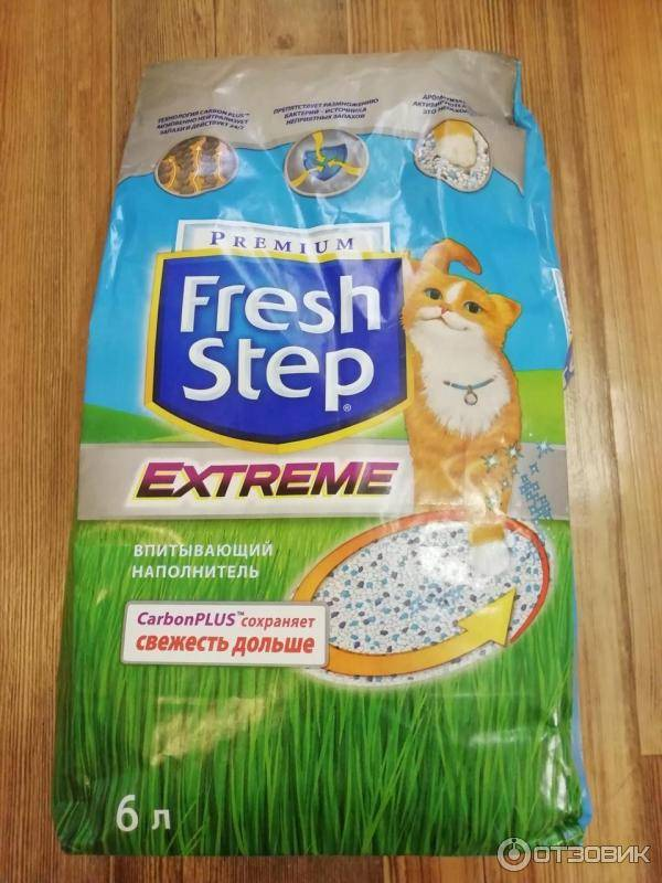 Как пользоваться наполнителем для кошачьего туалета фреш степ