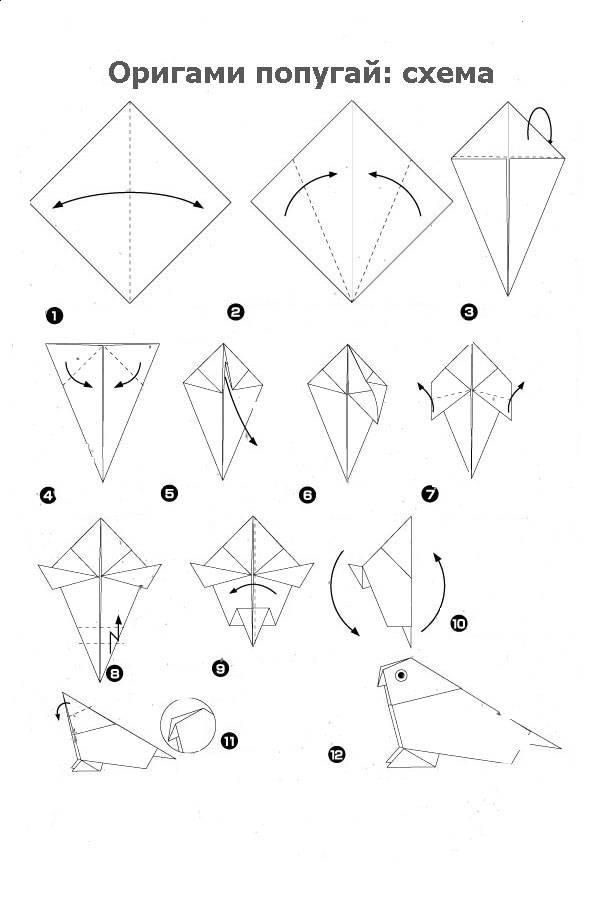 Пошаговая инструкция модульного оригами для начинающих