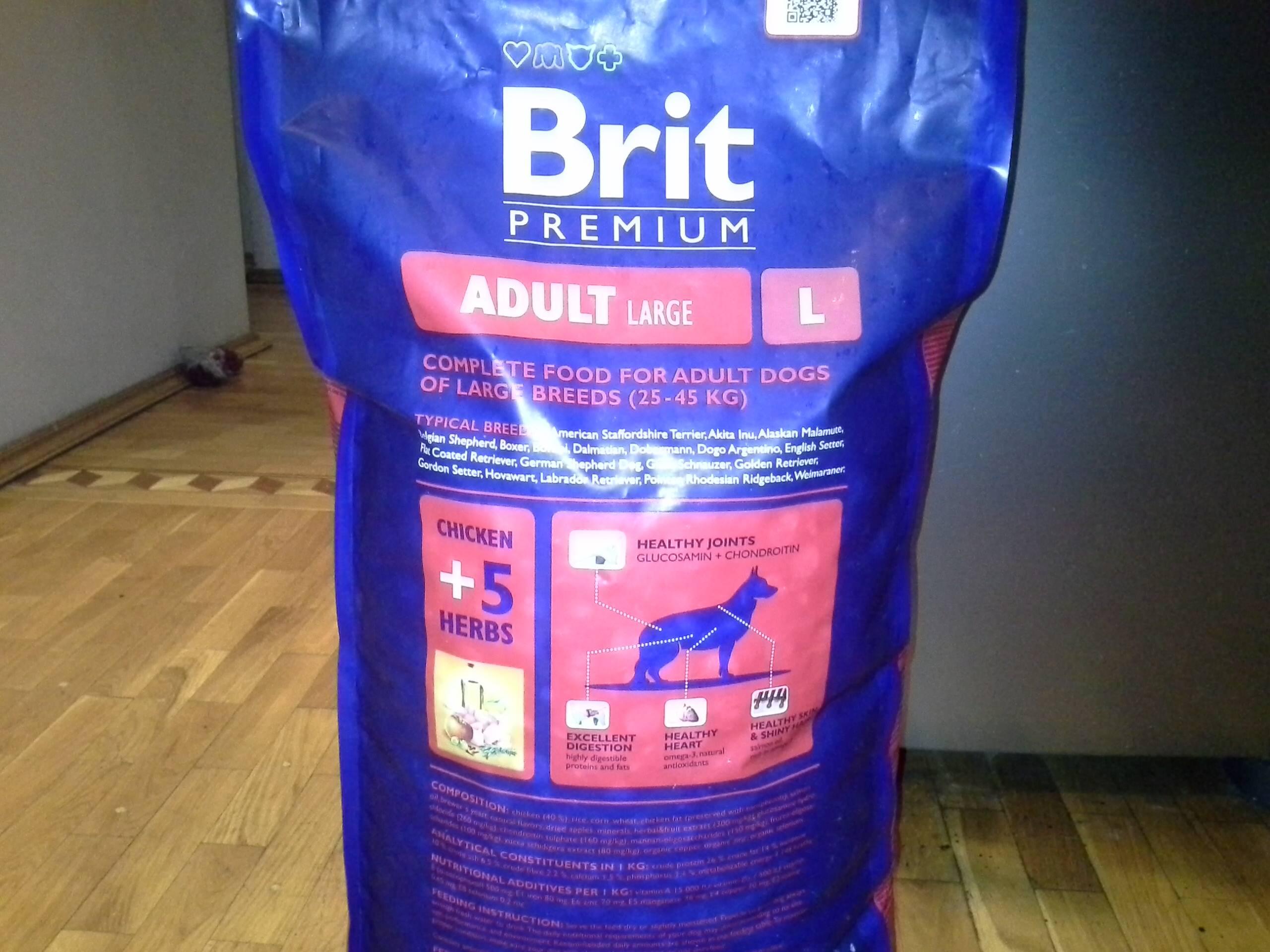 Корм для собак brit premium: отзывы и разбор состава - петобзор
