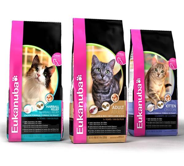 Обзор корма для кошек eukanuba (эукануба): виды, состав, отзывы
