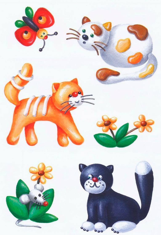 Игровое занятие «кошка с котятами» с детьми группы раннего возраста
