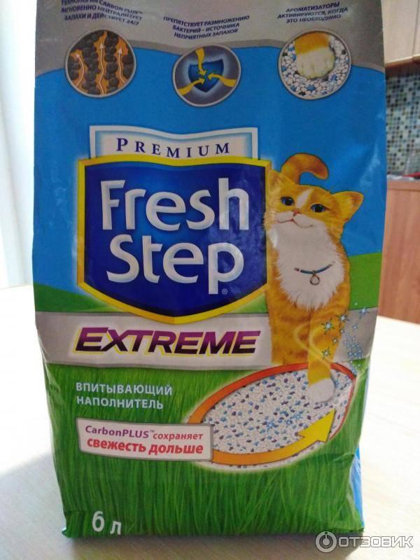 Отзывы наполнитель для кошачьего туалета fresh step впитывающий с тройным контролем запахов » нашемнение - сайт отзывов обо всем