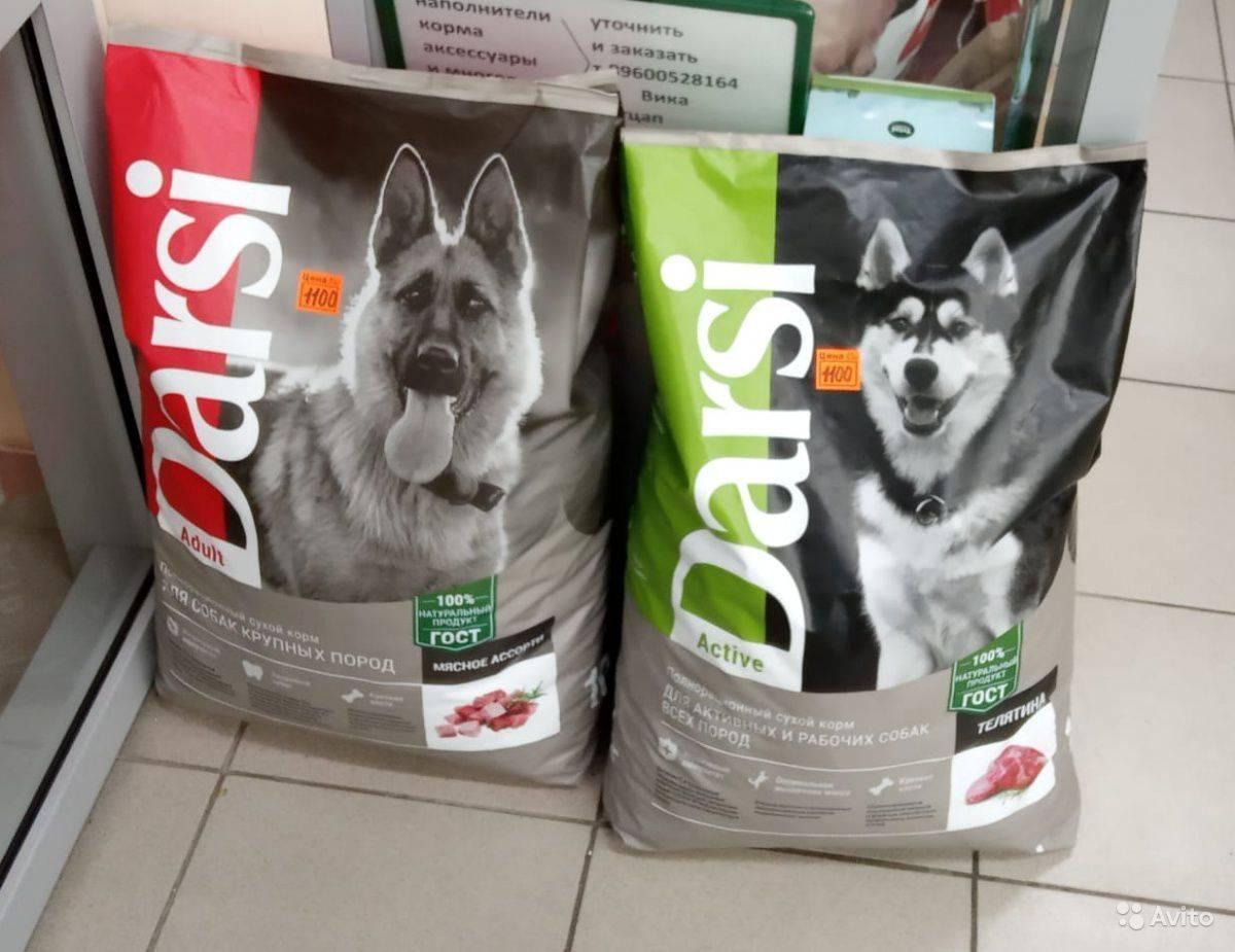 Корм дарси для кошек