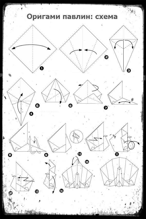Оригами собака для начинающих своими руками - смешной щенок, бульдог, забавная собака, милый песик. схемы создания бумажной фигурки собаки в технике оригами