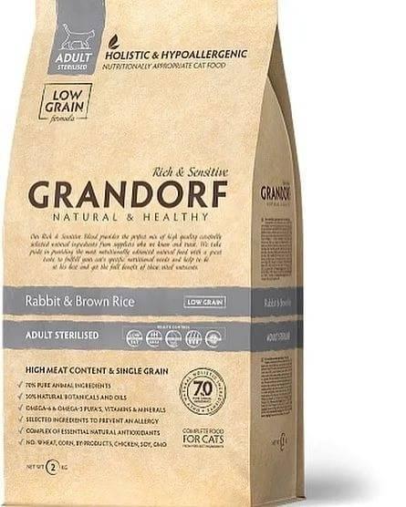 Грандорф: корм для кошек сухой и влажный, отзывы ветеринаров