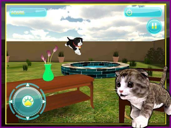 Как правильно играть с кошкой?