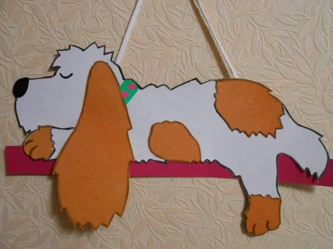 Собака из бумаги своими руками: 7 вариантов, 50 фото как сделать бумажную собаку
