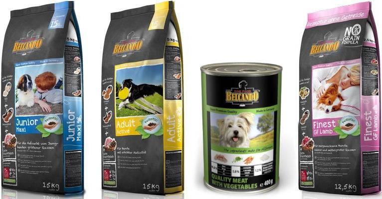 Обзор корма для собак belcando (белькандо)