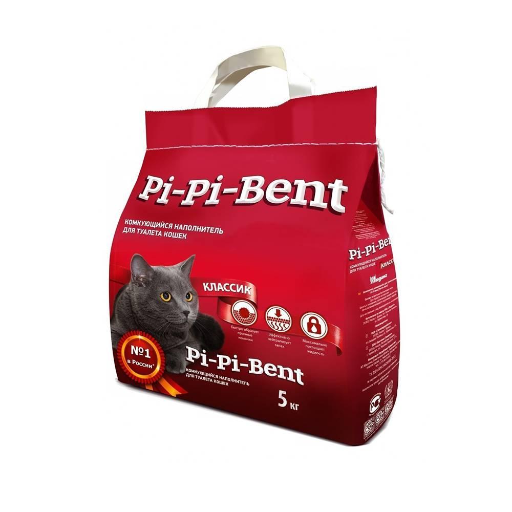 Наполнитель для кошачьего туалета pi-pi-bent: состав
