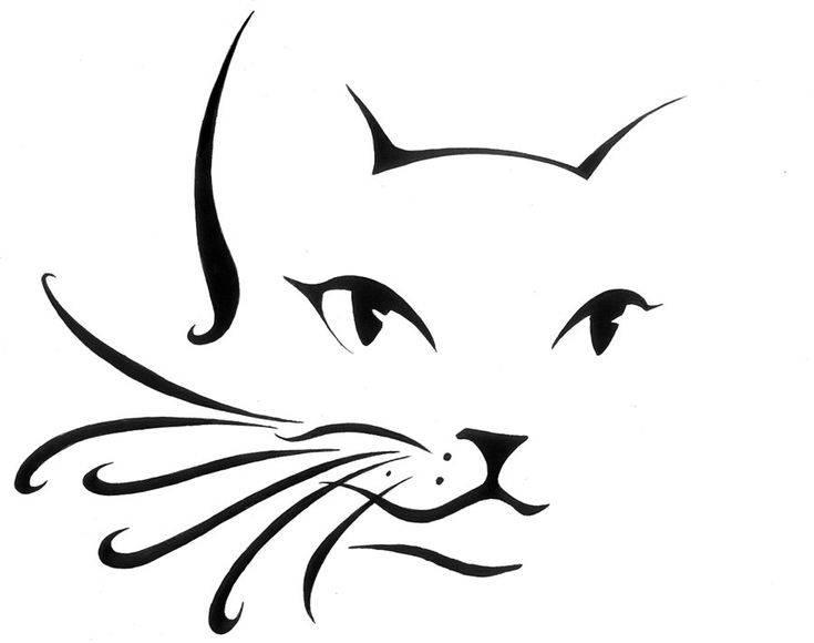 Как нарисовать мордочку кошки   фото, поэтапно, на лице ребенка