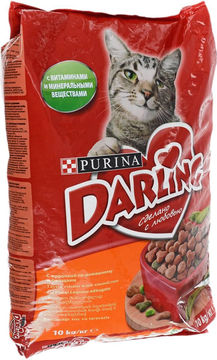 "Корм для котов purina ""darling"""