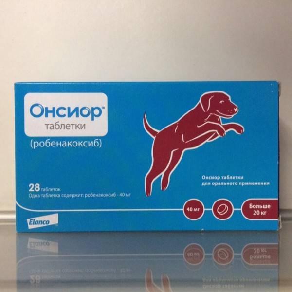 Онсиор для собак: инструкция по применению, цена, отзывы