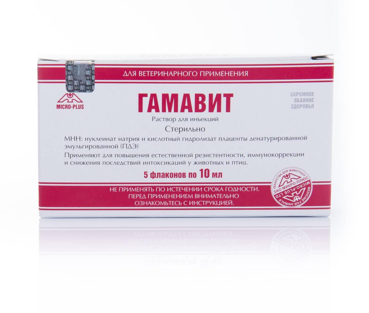 Гамавит 100 мл - купить, цена и аналоги, инструкция по применению, отзывы в интернет ветаптеке добропесик