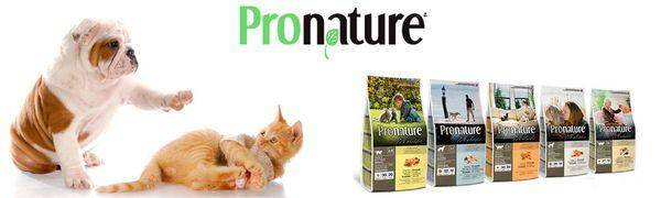 Корм pronature (пронатюр) для собак   состав, цена, отзывы