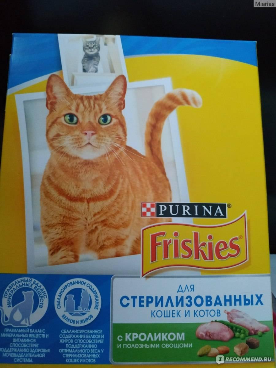 Корм для кошек фрискис (friskies): цена, отзывы ветеринаров, состав
